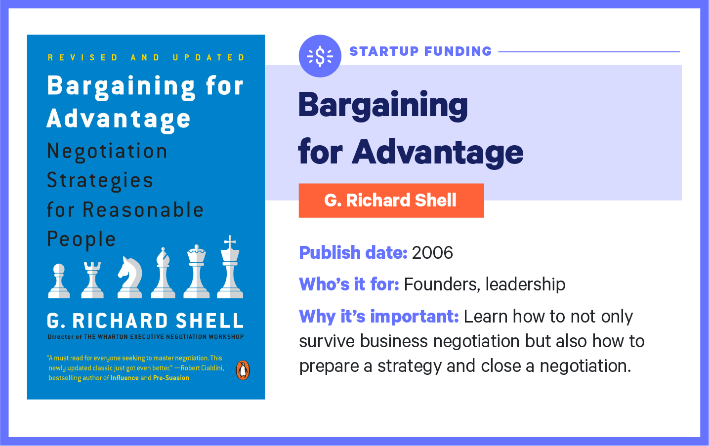 bargaining for advantage book