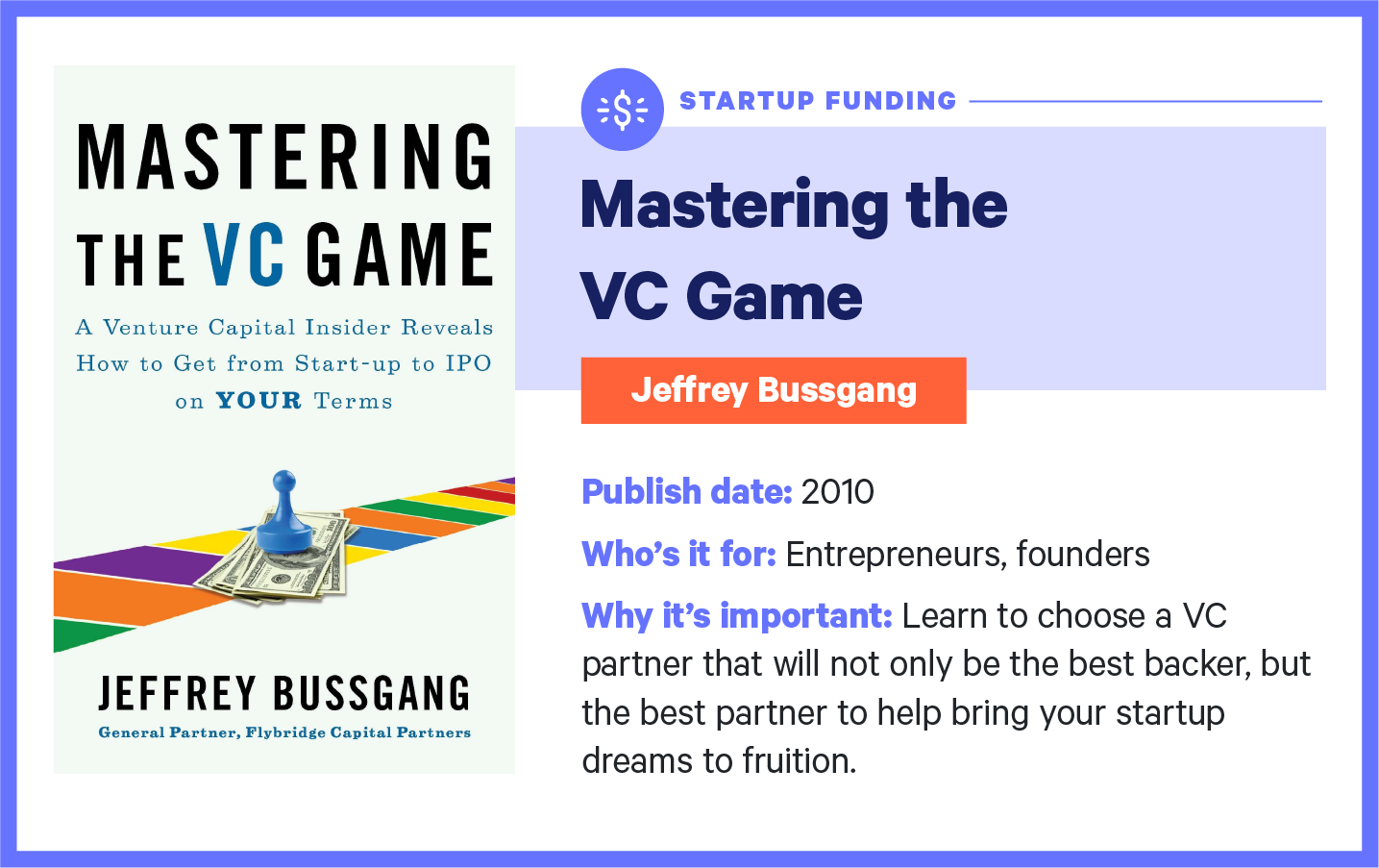 mastering the VC game book