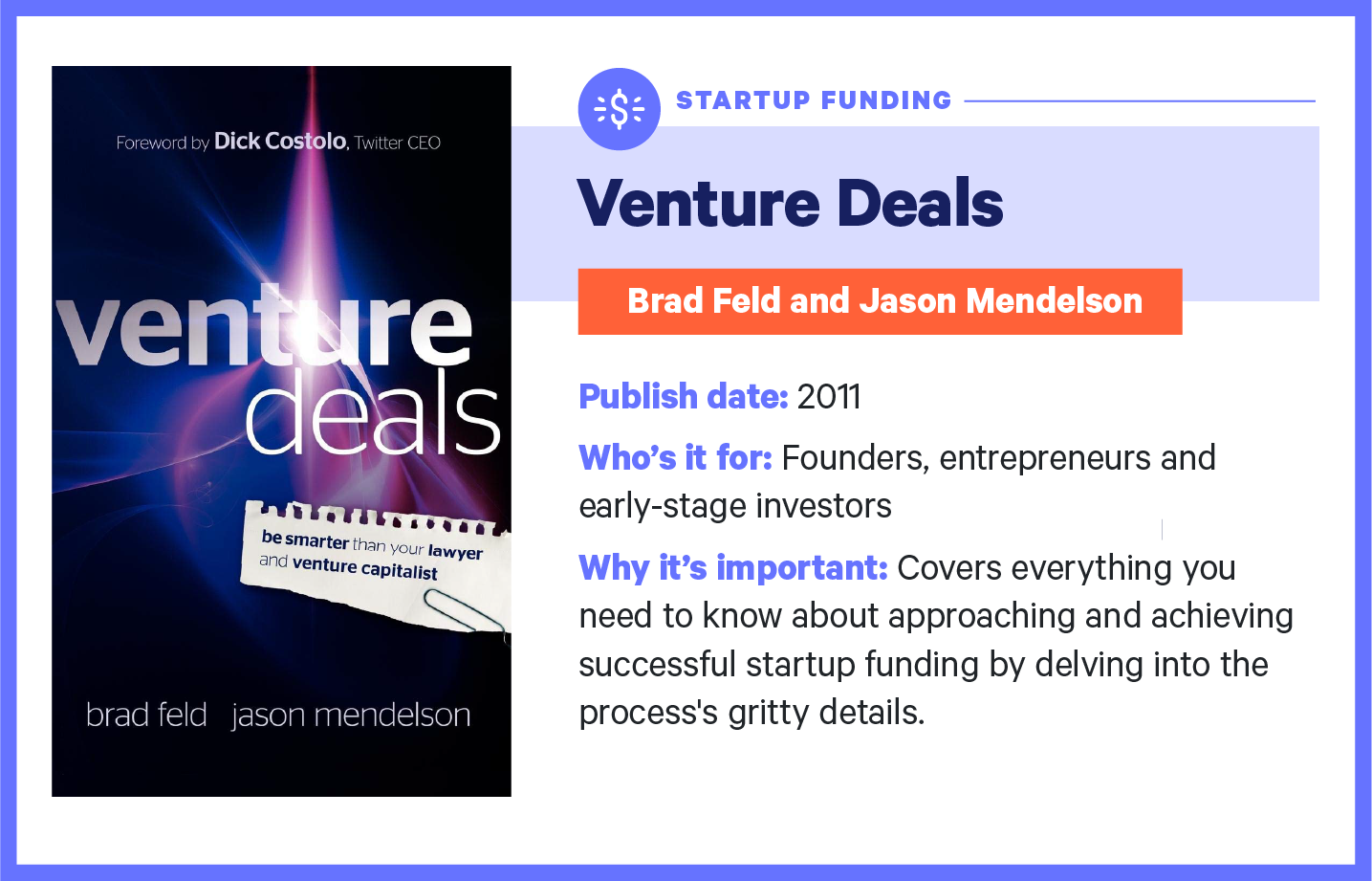 venture deals book