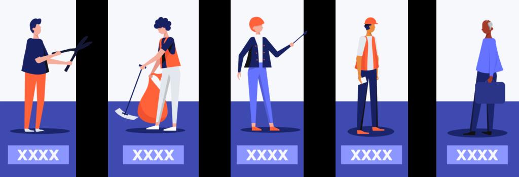 employee classification illustration